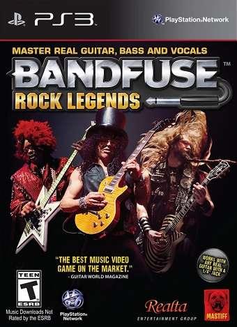 [PS3] BandFuse: Rock Legends - ENG