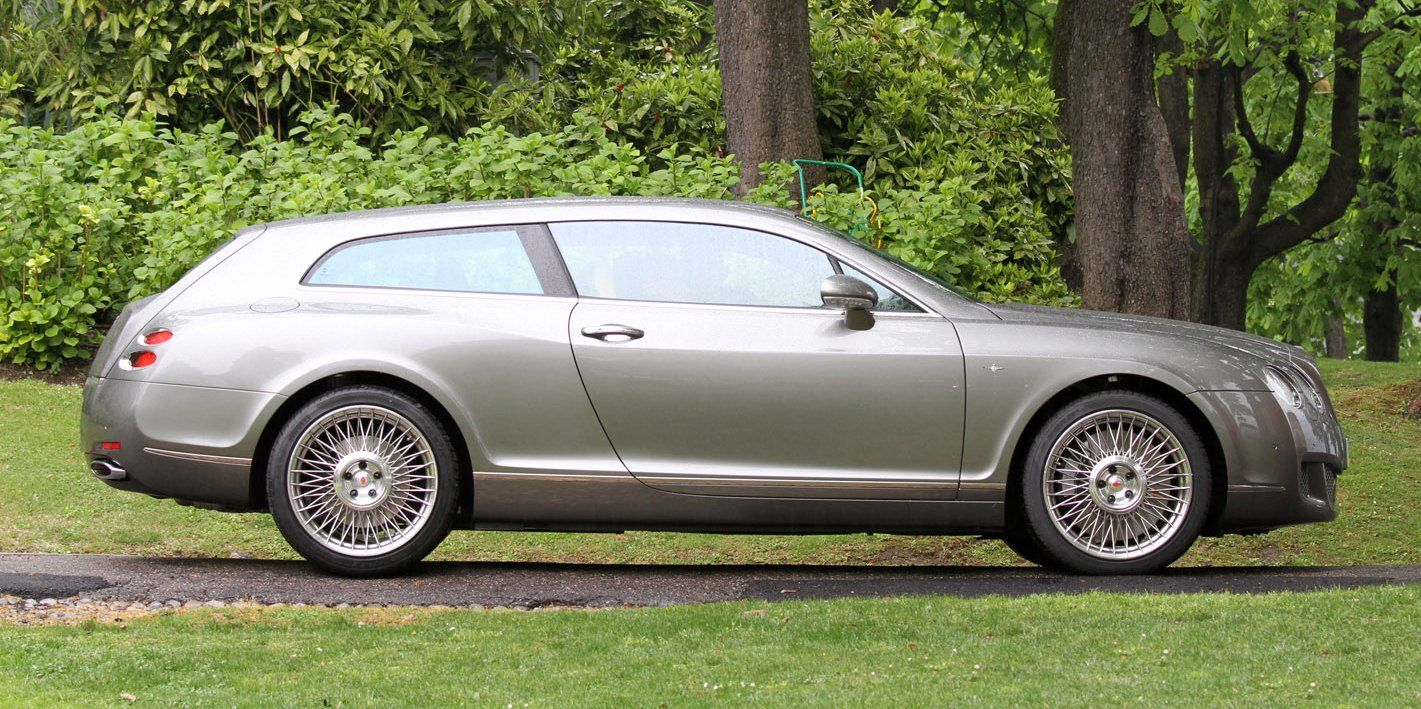 Power Cars Bentley Continental Shooting Break Quot Flying Star Quot By Touring Superleggera
