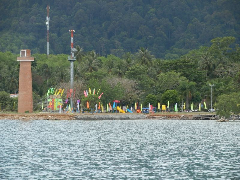 der Leuchtturm von Koh Lanta
