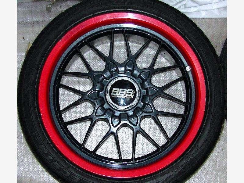 BBS RG 18 9J 5x114 alloy wheels rims  GTR R32 R33 R34 Supra RX7