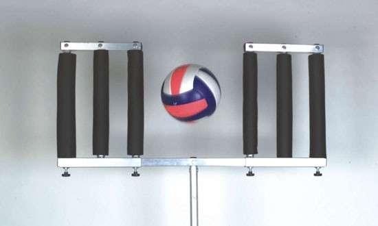 Pallavolo volley simulatore di muro portatile alluminio ebay for Simulatore di arredamento