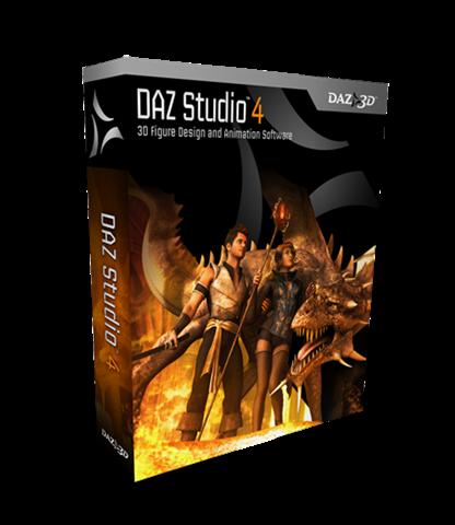 DAZ Studio 4 Standard Edition v4.0.3.9