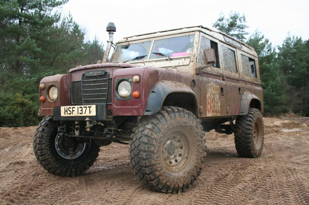 Portal Axled Series III Land Rover - All Finished! - RCCrawler