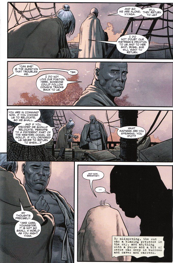 My Geeky Geeky Ways: Conan The Barbarian #13 - A Review